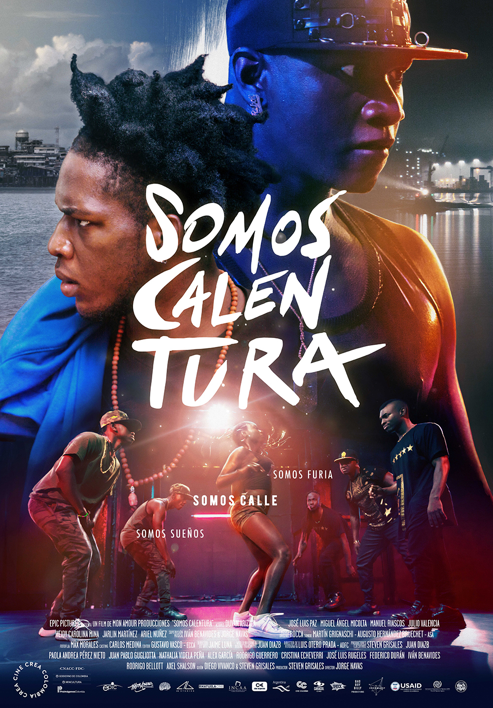 "Somos Calentura(We Are The Heat) - by Kathia WoodsLatin America hasn't always done an excellent job of representation when it comes to Afro-Latinos.Colombia whose two most notable celebrities are Shakira, and Sofia Vergara has the second largest Afro population in South America. So naturally when tourist travel to Colombia, they are somewhat surprised to notice that the average Colombian doesn't resemble those celebrities.""Somos Calentura"" is a film that helps chip away at the misrepresentation.This movie tells the story of a group of Afros Colombian friends. Harvey and his three friends are trying to navigate through the everyday struggle of living in Buenaventura. They come from humble beginnings with not many options.Music and dance provide an escape from the harsh reality of life. Dancing is a pivotal part of their escape.Like so many before them, dance could provide a legal escape out of poverty. So when the opportunity presented itself to enter a dance contest with a sizable purse, the boys jump on it.Director Jorge Navas does an excellent job of showing the struggles; however, it's not what ""Somos Calentura"" primary focus is. Crime and poverty are a reality in Buena Ventura, but it's not what defines this dance crew. They're brothers, brothers that may argue but have each other's back regardless of the situation.Harvey portrayed by first-time actor Duván Arizala is the family man. He has a wife and young child to provide for, unlike his companions he doesn't have the luxury to pursue dance for the sheer job. The stakes are higher for him. If this contest doesn't work out, he's relegated back to a life of meaningless jobs, for him this contest is a risky venture.Not having to face the same challenges his friends don't understand his unwillingness to jump at the chance to enter the contest; hence the road to the championship hits a few snags.This movie is entertaining and introduces us to some new and much-needed talent. I enjoyed the dance sequences in this film. You see the strong influence of ""Hip-Hop"" from the dances move to the colloquialisms; however, the music has elements of Salsa, Cumbia, and Chambeta to name a few.It was smart casting on Navas to find dancers that can act. This way the dance sequence shots are authentic and vibrant.There are many twists and turns to"