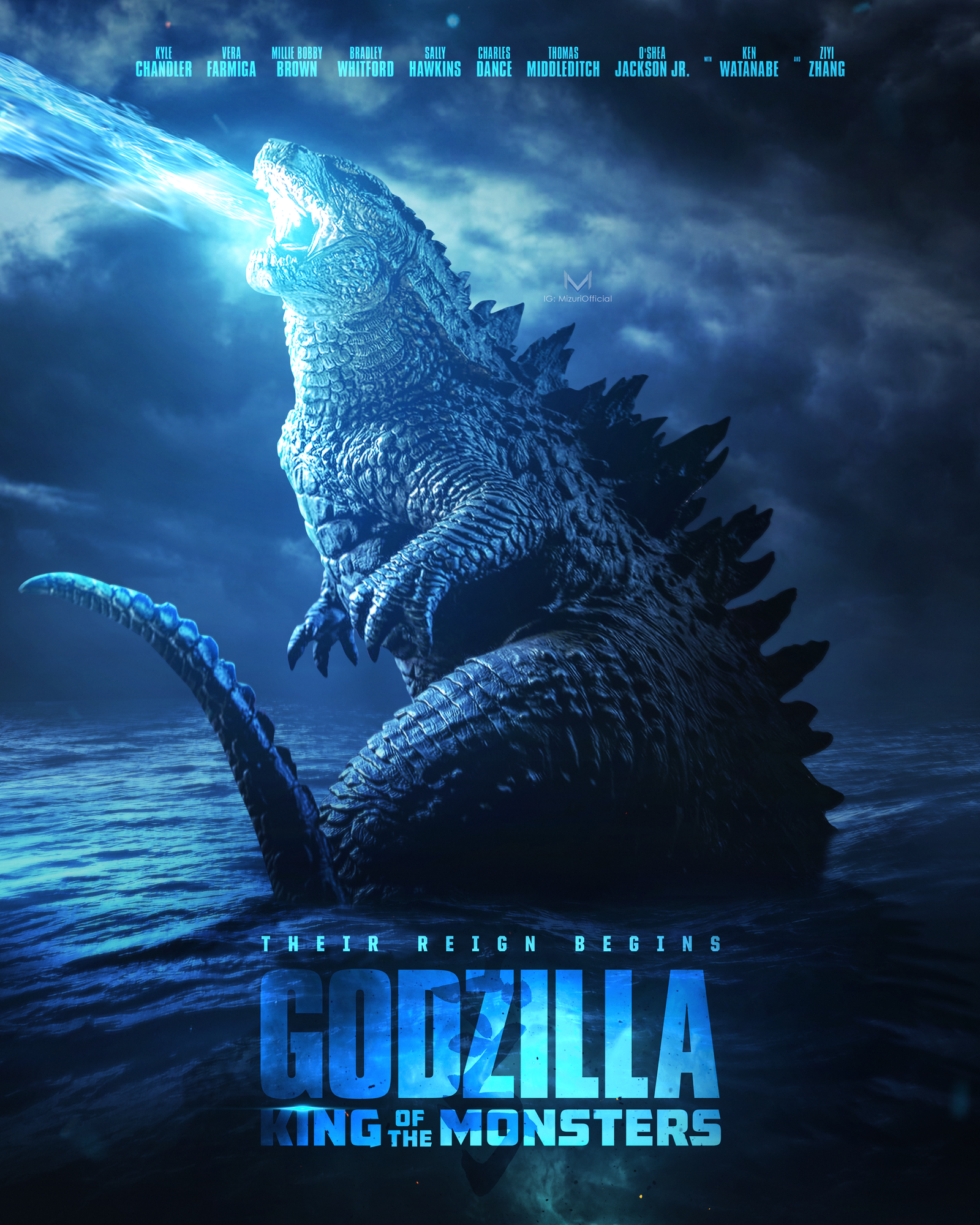 Godzilla - King of the Monsters - by Kathia WoodsSummer movie season doesn't seem official without a movie entrance that has lots of special effects and a monster, Godzilla is that movie. The conflict is between Monarch a crypto-zoological agency that fights monsters and the revived dormant monsters. I know that seems contradictory but that is the scenario. Godzilla is apparently on the human's side, but his nemeses King Ghidorah, aka the three-headed monster is not. In plain English, they are fighting over supremacy.Sprinkled in there are Dr. Emma Russell, Dr. Mark Russell and their daughter Madison. The Russell's are still grieving the loss of their son at the hands of Godzilla. This grieving results in Dr. Emma Russell, making some bad choices. Vera Farmiga portrays Dr. Emma Russell. She's usually formidable, but in this movie, she's just flat. I could not muster any empathy for her character. Millie Bobby Brown is Madison Russell and let's say this part was not an evolution from her Stranger Things character eleven. Kyle Chandler is the most likable out of the Russell bunch as Dr. Mark Russell, but even he couldn't salvage this.You may be asking how that plays into the monster storyline? It doesn't.That's the problem with Godzilla; it's preposterous even by action movie standards. We don't care about this family and its issues. The beginning of this movie is slow and drags. I found myself almost falling asleep, which seems hard amongst all the noise. The plot is nonexistent. They attempt at various stages to pull us in with the scientific mambo jumbo, but it just doesn't work.At one point we are inundated with so many monsters that it's just overkill. Also, the special effects weren't the greatest. Some of the CGI is quite comical.One aspect of this movie I did enjoy is the diversity in its cast. There's been much discussion on how best to apply diversity in a film. Godzilla does. O'Shea Jackson Jr, Ken Watanabe, Zhang Ziyi, Aisha Hands, Anthony Ramos, and Elizabeth Ludlow all have roles with purpose.I didn't expect Godzilla to be Jurassic Park; however, the biggest sin is that it's boring. An unutilized stellar cast, overkill special effects and to many monsters makes for quite a snooze. If they do decide to make another movie in this series, I urge them to keep it simple. In the end, less is more.Scale: This movie gets a five. An action movie that was dull.Diversity: This movie gets an 8 for having a diverse cast from starring roles to supportive roles.