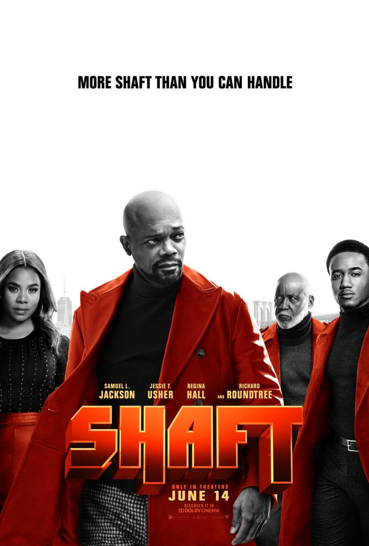 "Shaft - by Kathia Woods""Shaft"" is an icon and so was the original movie that came out in 1971. Richard Roundtree changed the narrative of the black leading man by playing a crime crusader for the people. We fast forward to 2019 and this latest incarnation of Shaft. Samuel L. Jackson is back as John Shaft Jr. and this time he's not only fighting crime but having to face his parenting failures.Jessie T. Usher formerly of ""Survivor's Remorse"" joins the franchise as J.J Shaft. He's everything his father isn't. He's polite, politically correct, respectful to women and works for the man. Regina Hall is Maya Babanikos Shaft's ex-wife and JJ's mom. Tying in the old to the new is Richard Roundtree as the original bad mutha but this time in a supporting role. I now have stated all the good things about this movie the cast.The plot is a mix-up of terrorist, drug addict mixed in with veterans suffering PTSD. This starts off a series of events connecting father and son to notorious drug pin Gordito. There was an opportunity for some great storytelling, however, it was never executed. JJ is everything Shaft Jr isn't. He grew up in the suburbs, attended college and is a data analyst for the FBI. He solves crimes via intelligence, unlike his father who likes to knock heads. JJ was sheltered and protected by his mother. John Jr. wasn't coddled. So naturally, upon the first contact, it sets up for a humorous interaction. So please explain why the writers opted to go for predictable dialogue. We know that Shaft is a lady's man, but did we really need to see him with glitter around his mouth. Also, the usage of the P word as in cat to assess JJ's manhood also didn't help matters.Regina Hall coming off a great year was misused in this film. She has great comedic timing but was relegated to a chick role. In other words, she wasn't given much to do. Alexander Shipp is Sasha Aries JJ's childhood friend and crush. She too was relegated to playing pretty.Wait it gets worse. There's great banter between Father and Son as they try to get to know each other while solving the said crime. The sad part is that it's clouded amongst homophobia and misogyny. If this were 1974 this might work but it's 2019. You can make a movie about a sexy private eye without resorting to frat humor. I have given up on getting quality from Samuel L. Jackson. It's obvious he's check chasing however Reginal Hall and Jessie T. Usher deserved better. Kenya Barris yes ""Blackish"" creator helped pen this juvenile script. Shaft provides a few chuckles but is it worth the price of admission. The answer is a hard NO. Don't even rent this just wait for it to appear on HBO or BET.This is just a colossal waste of time.Scale: This movie receives a two for horrendous."