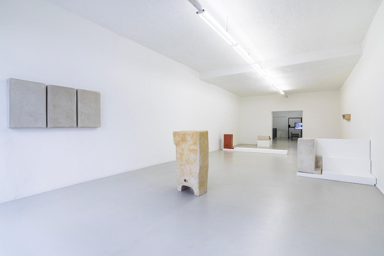 Cache (Insurance Policy),  2019 Installation view ar/ge Kunst, Bolzano Photo: Luca Guadagnini
