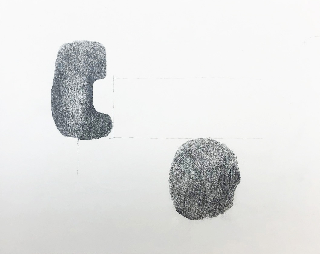 "Drawing 1, 2011, 8"" x 10"", pencil on paper"