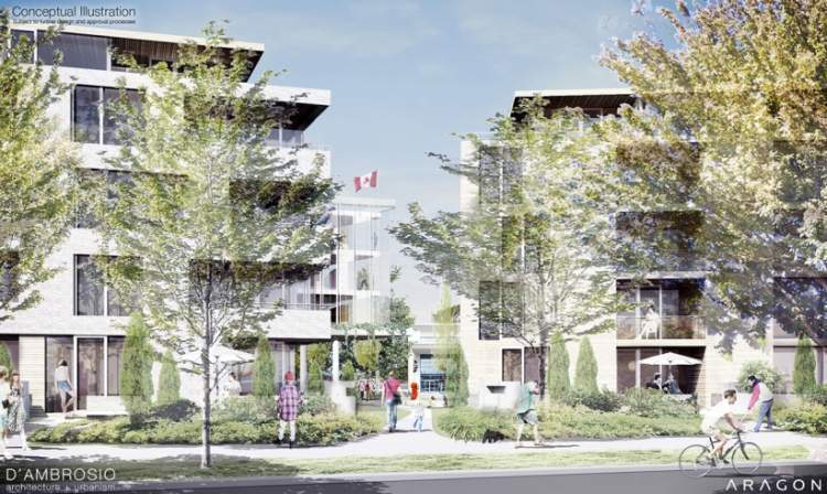 Esquimalt Town Square by Aragon  - x9 Kitchens - Coming soon -