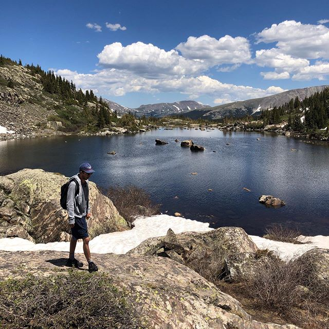 hi everyone, it's me again. Having a great time in Colorado! Wish you could see this in person. Losing my mind over here at how gorgeous everything is.  Anyways, I hope your day is great, and I'll see you all at @mercylounge on Tuesday! 🤗 -J. 🧡