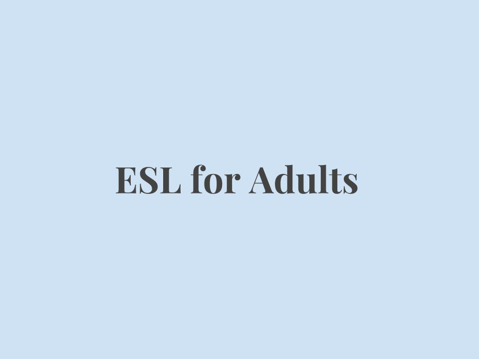 Our English Literacy program targets adult learners 18 years and order and teaches them how to effectively participate in education and work opportunities in the United States. Students will learn English and also understand social systems (governmental, educational, workplace, etc.). Students will be prepared to pass citizenship interview test.