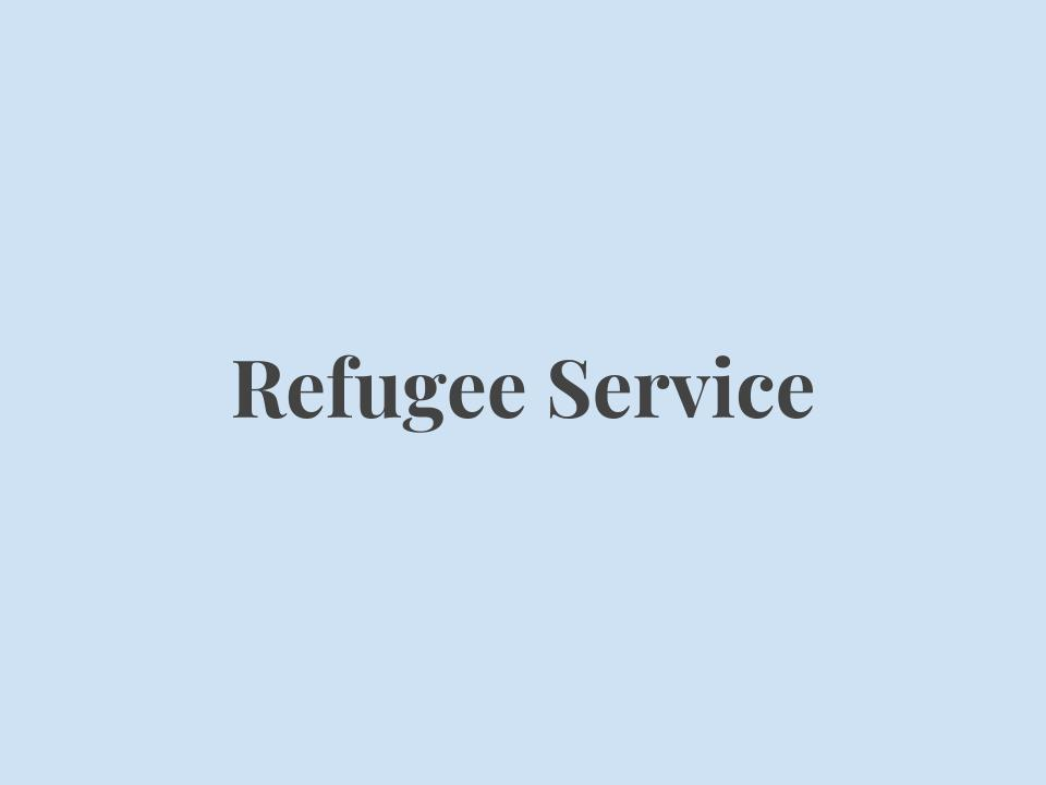 Provide refugees with the basic skills to live in America,    *Employment Training & Career    *Counseling    *Transportation    *Victim & Domestic Violence    *Translation & Interpretation