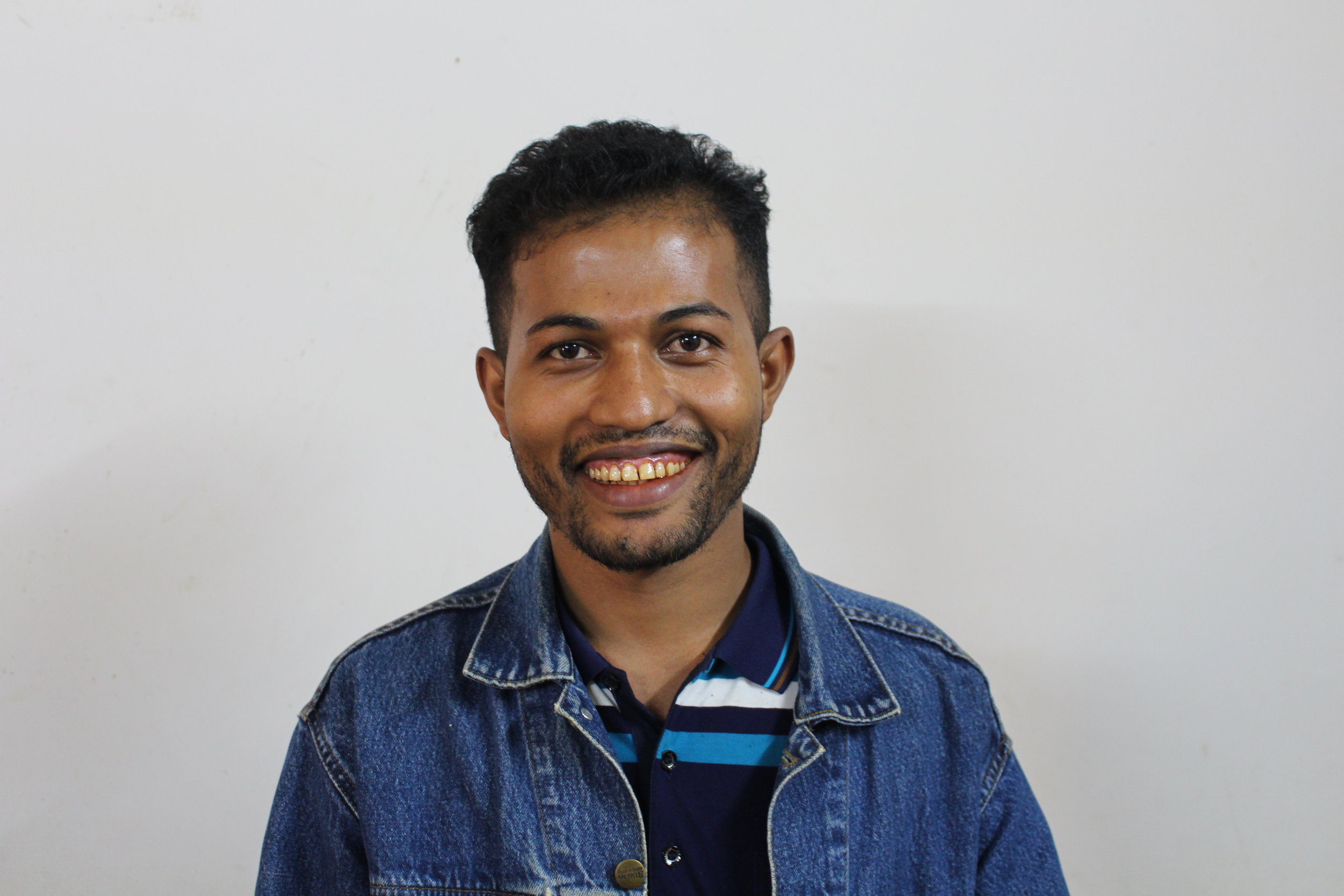 "Talib, Coordinator - ""BRCG is a way for me to give back to the Rohingyan refugee community and create better lives for our youth."""