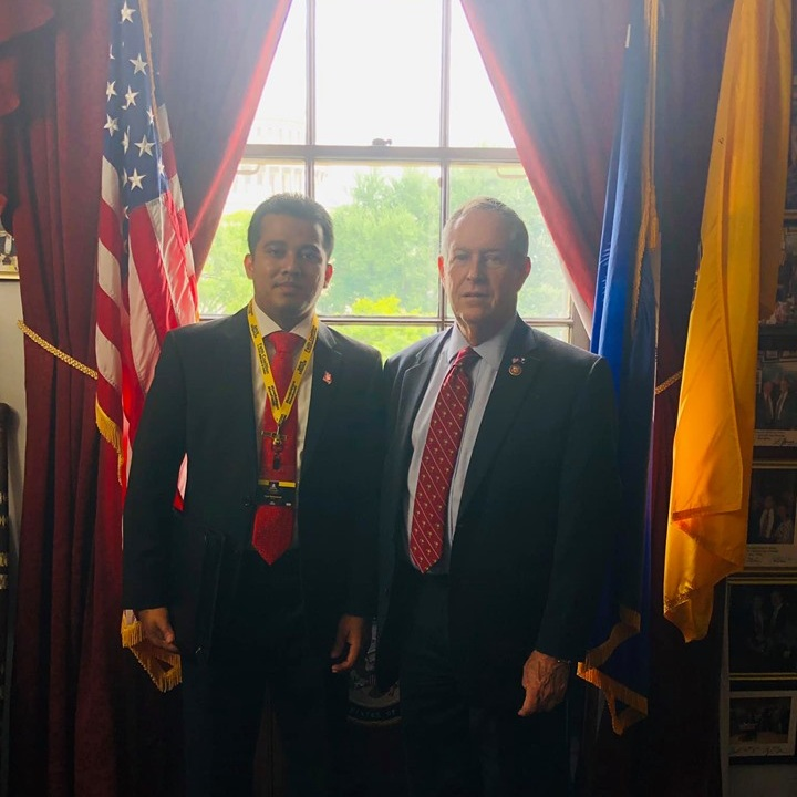 Rohingya Advocacy Day in Washington, D.C. - BRCG's President Ayub Mohammad visited to Congressman Joe Welson's office from South Carolina to meet him for the Rohingya ongoing genocide issue and co-sponsor HR-3190 Bill. On Rohingya Advocacy Day on June 19th, 2019 at Washington, D.C.