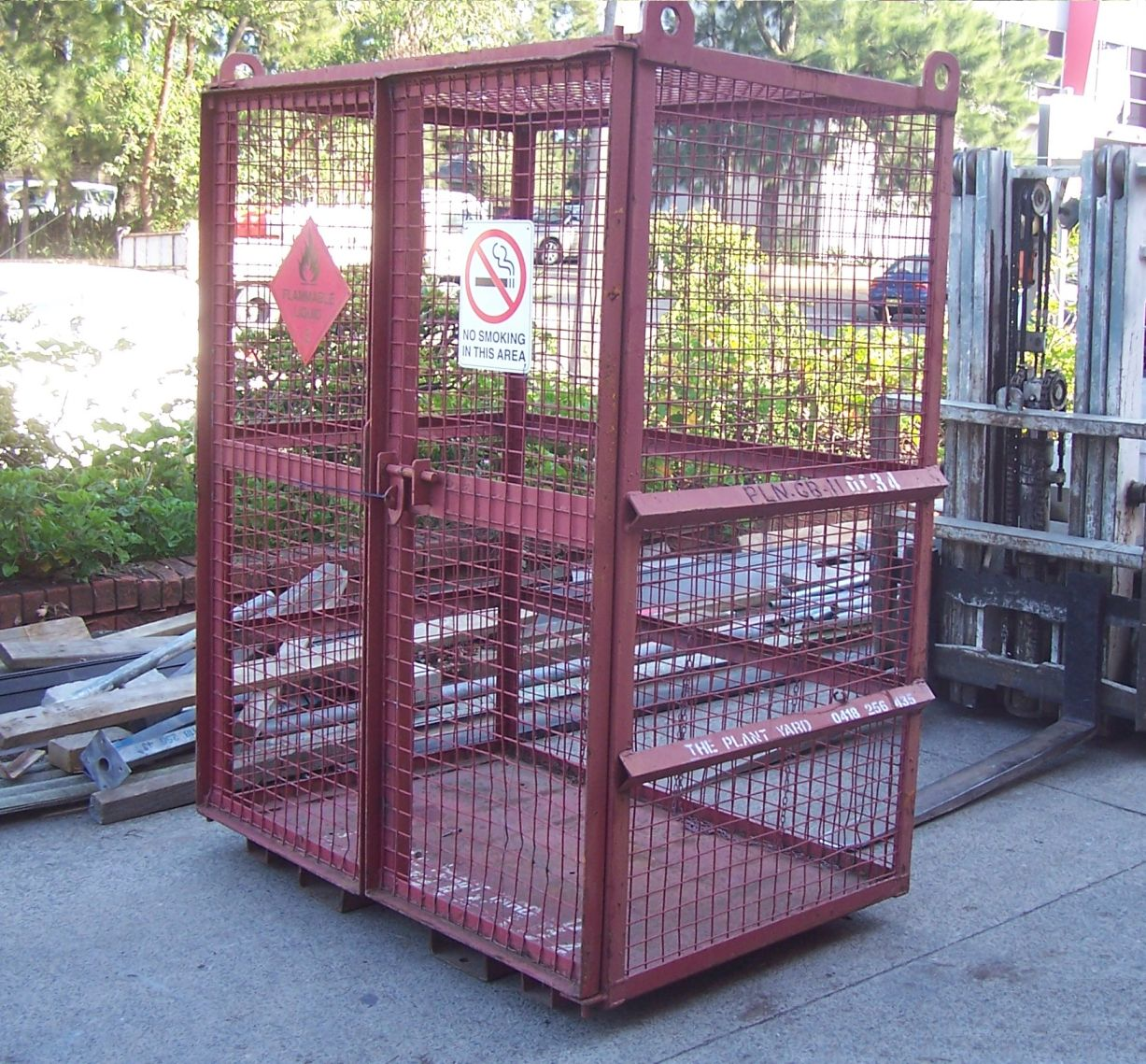 Gas Cylinder Cage hire.JPG