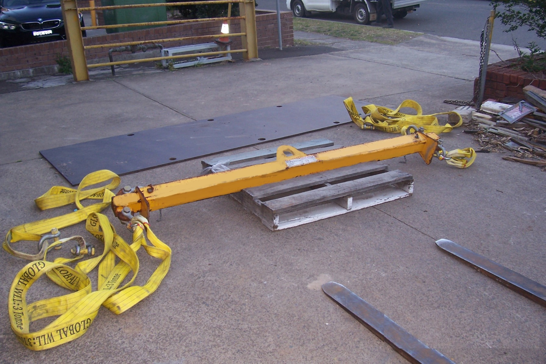 spreader bar hire