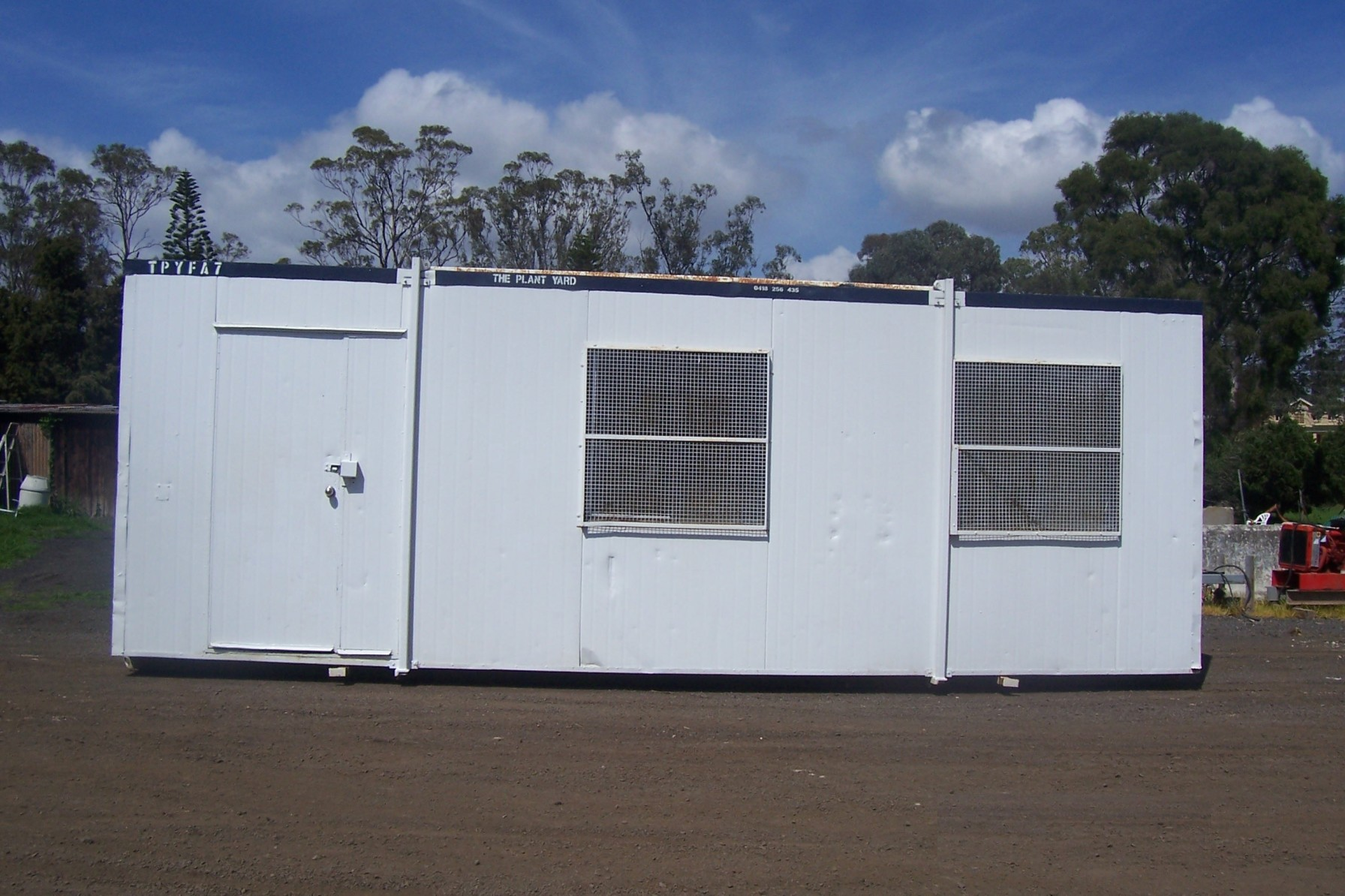 site shed hire