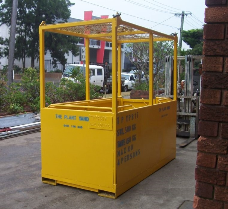 4 man box crane - closed top