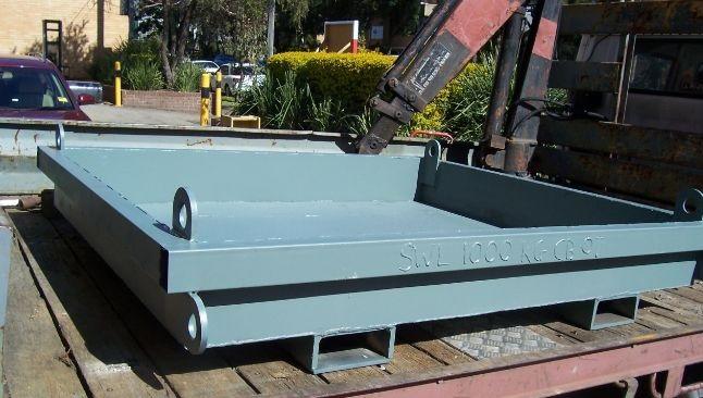 Concrete Wash Out Bin 07   Size - 1380 x 1500 x 200 mm Capacity - 0.41 cubic m