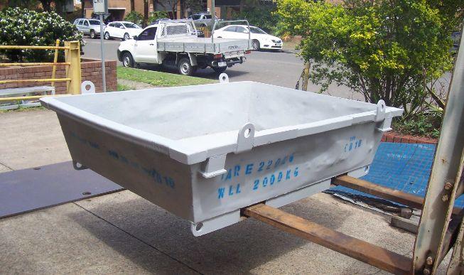 Concrete Wash Out Bin 10   Size - 1300 x 1800 x 480 Capacity - 0.85 cubic m