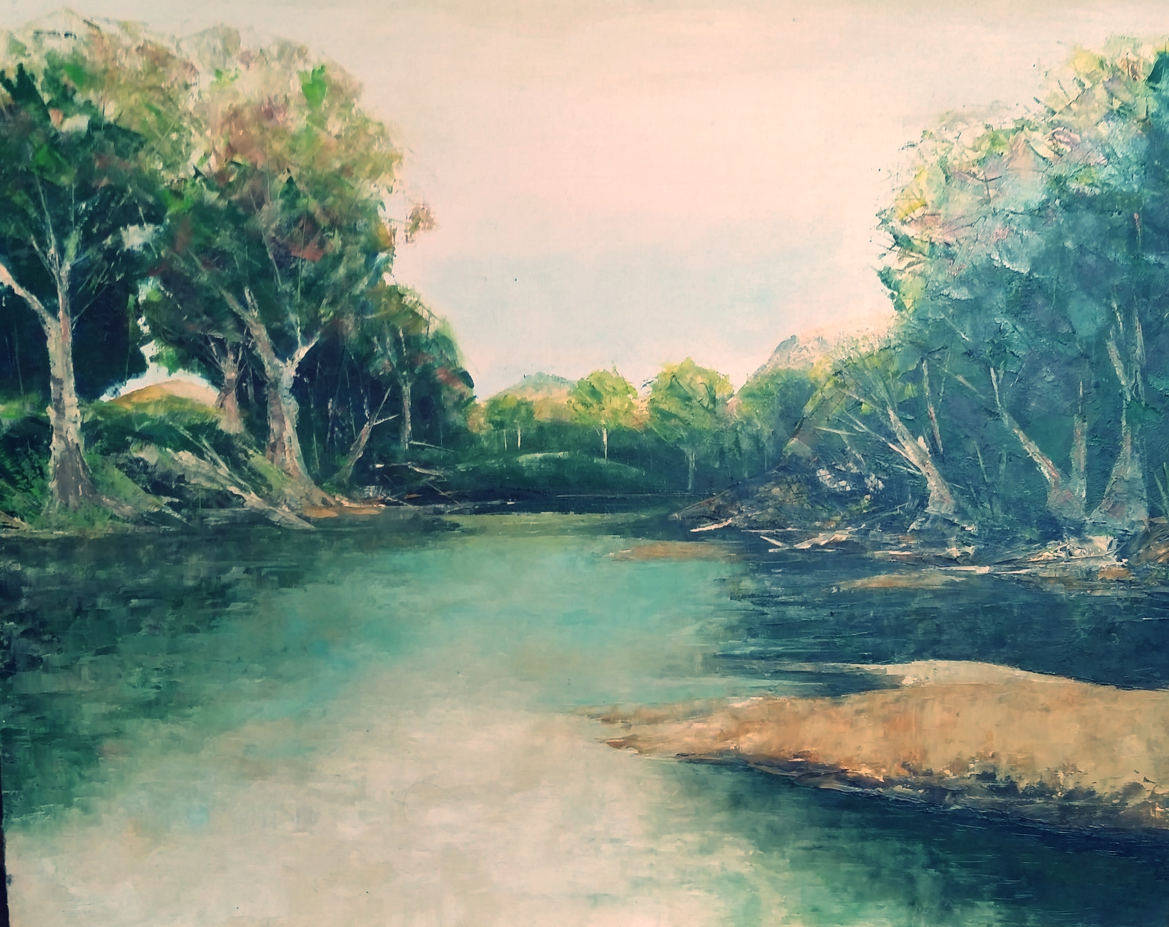 Murrumbidge Winter - Brian Allen