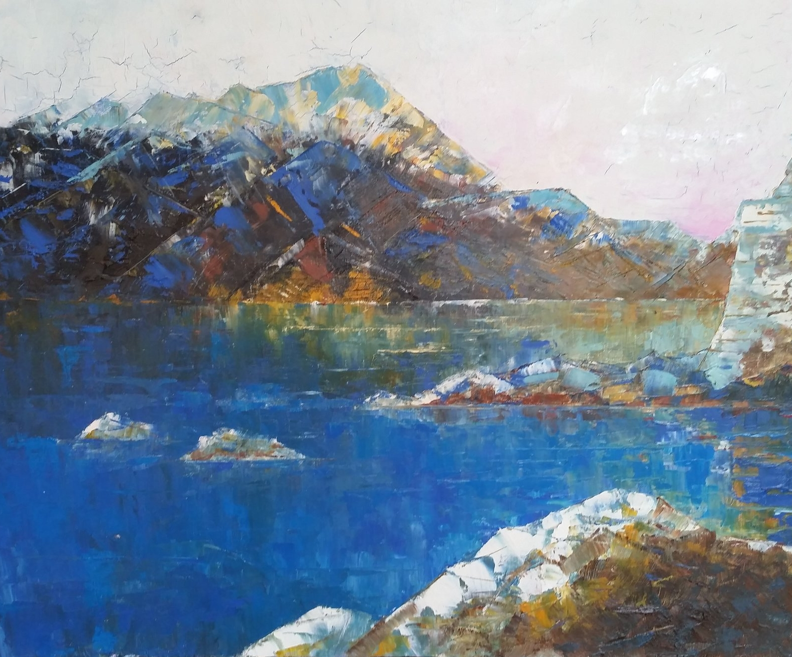 New Zealand Lake - Brian Allen