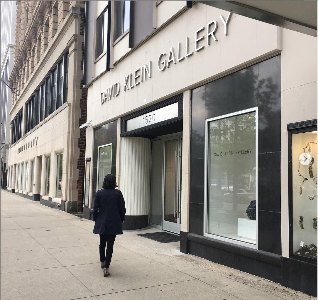 David Klein gallery in downtown Detroit. Image from David Klein Gallery.