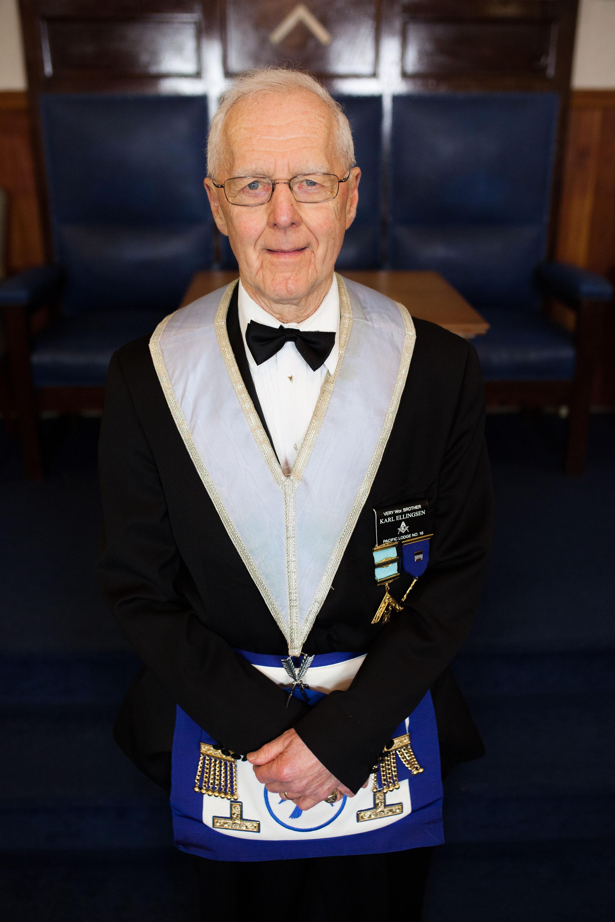 Secretary - V.W. Bro. Karl Ellingsen