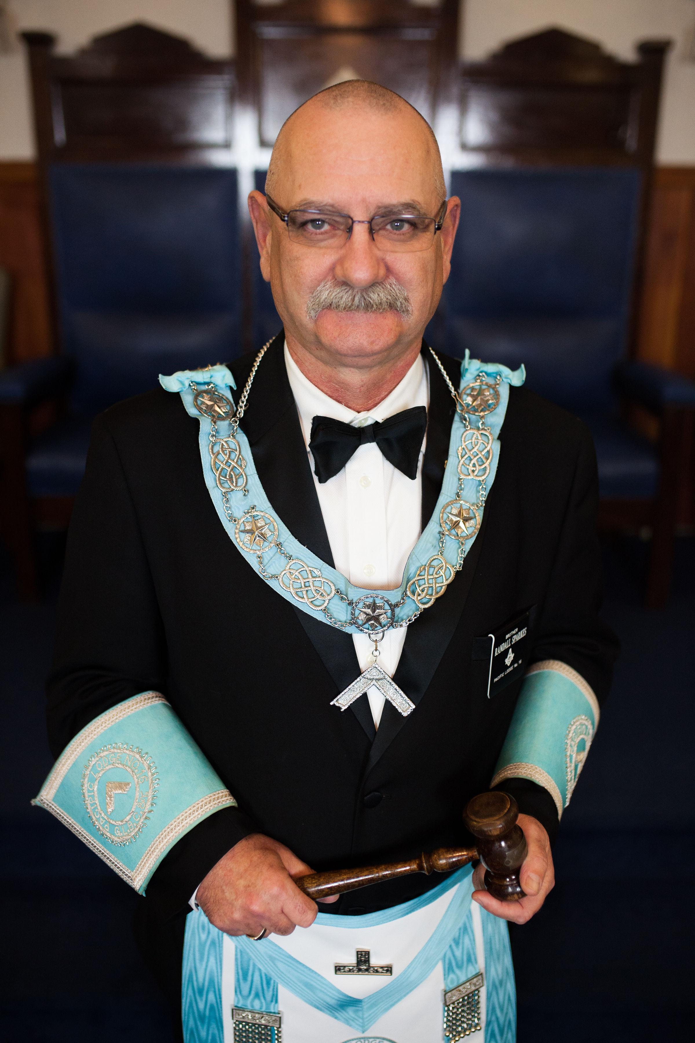 Worshipful Master - W. Bro. Randall Sparkes