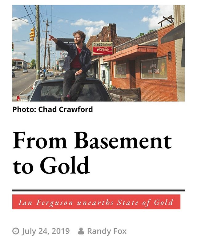 Thanks to the @eastnashvillian and Randy Fox for this article. 📸: @chadcrawfordphotog. Link below: https://www.theeastnashvillian.com/ian-ferguson-state-of-gold/