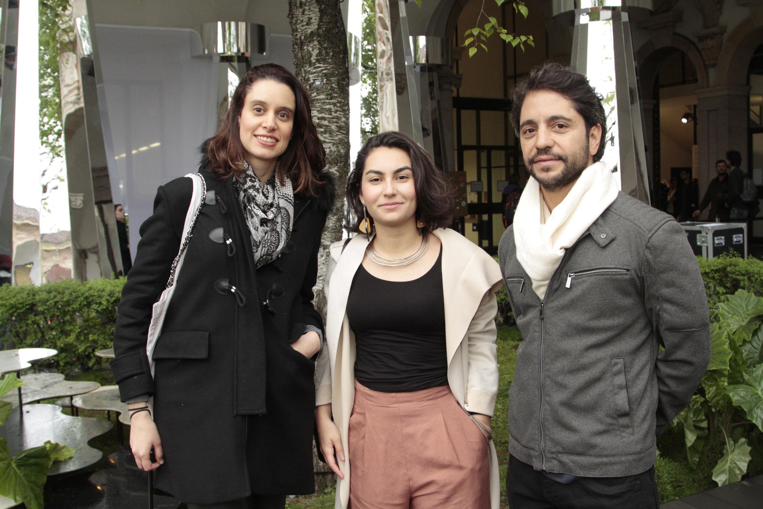 Andrea Macruz, Isabela e Marcello Milagre