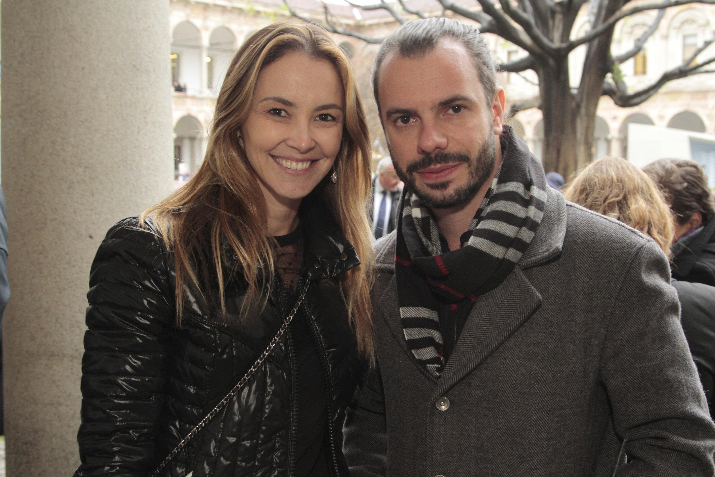 Erika Coser e Marcello Sesso