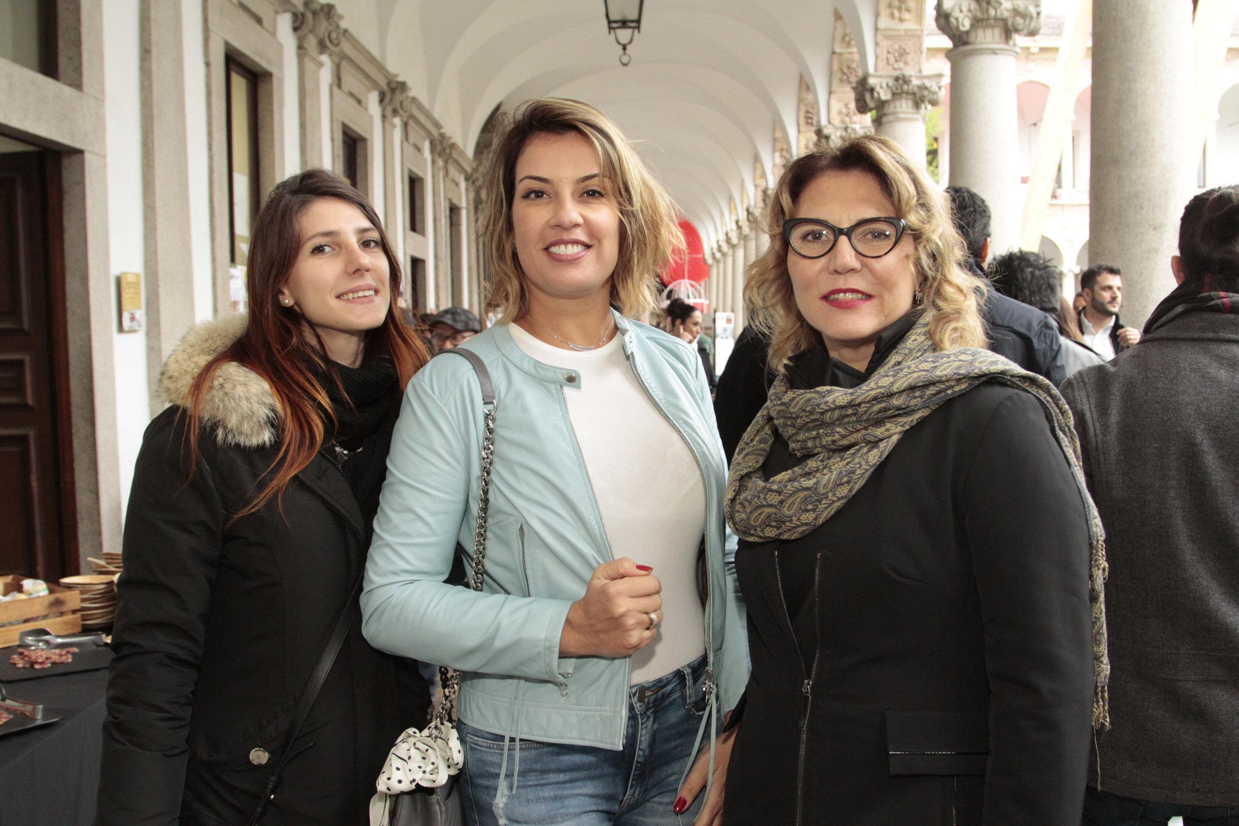 Beatrice Bosco, Renata Malenza e Paola Malenza