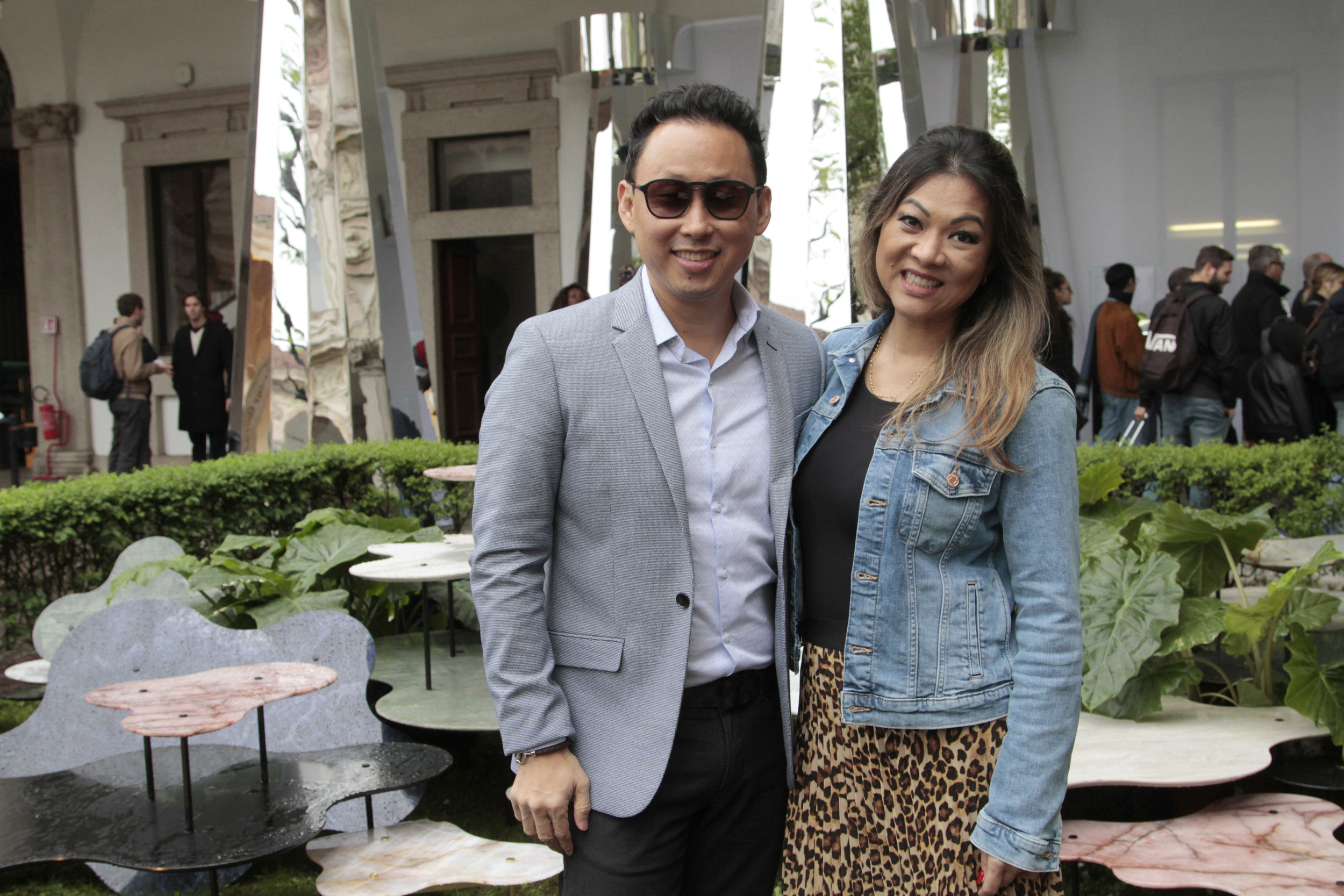 Fabiano e Tania Hayasaki