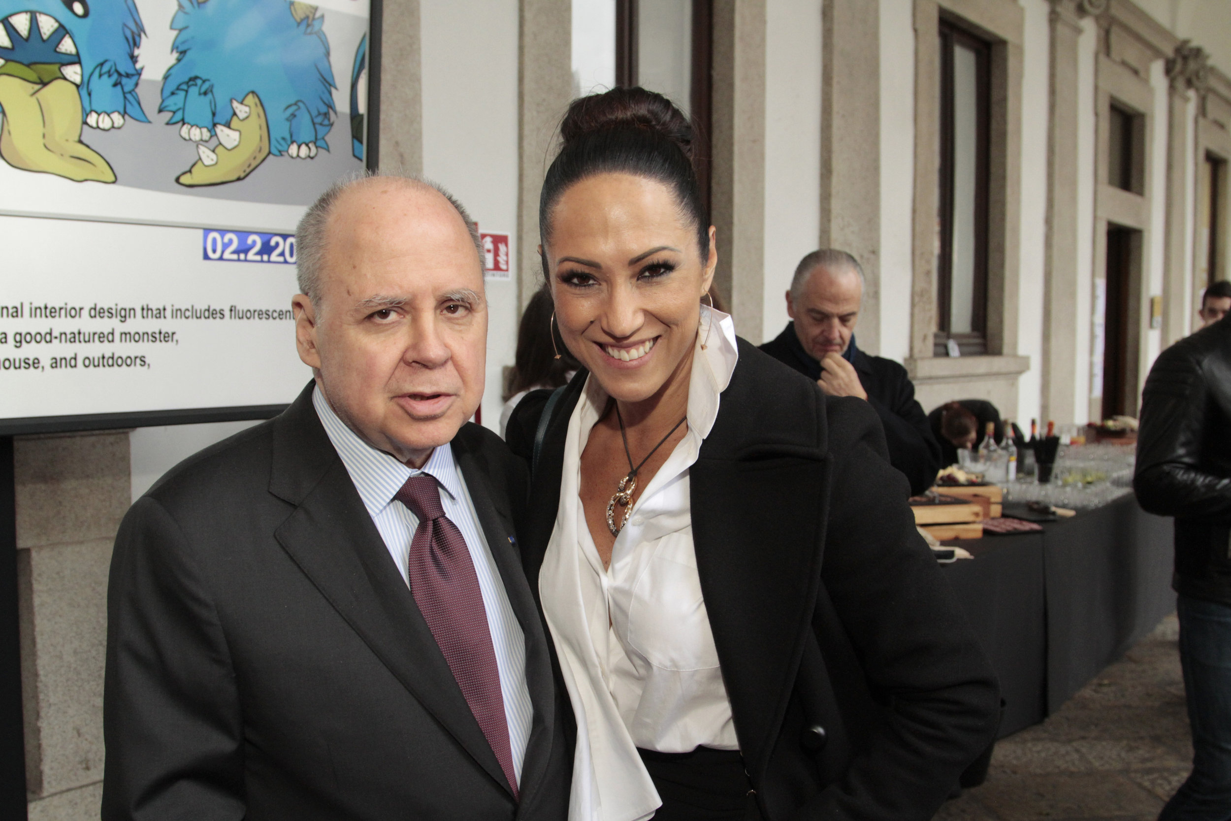 Eduardo dos Santos e Katy Satto