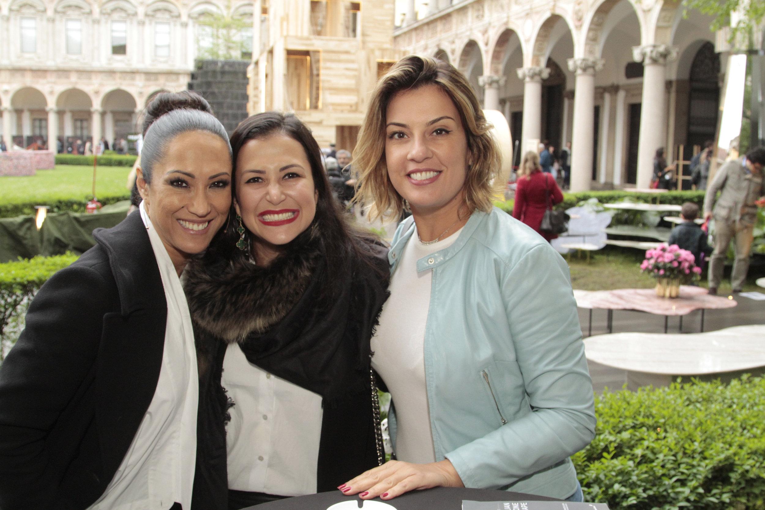 Katy Satto, Vivian Coser e Renata Malenza