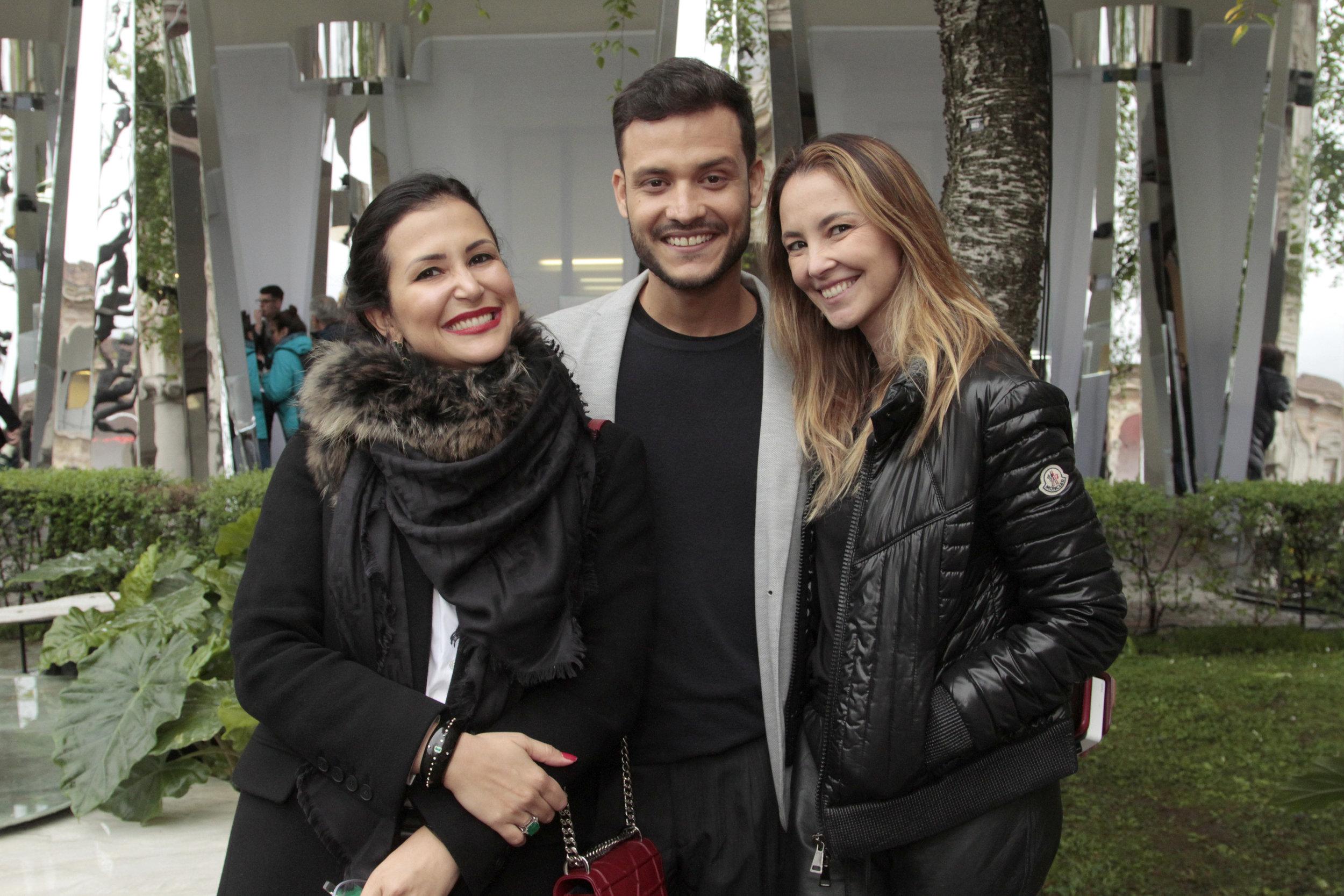 Vivian Coser, Marcos Lyra e Erika Coser