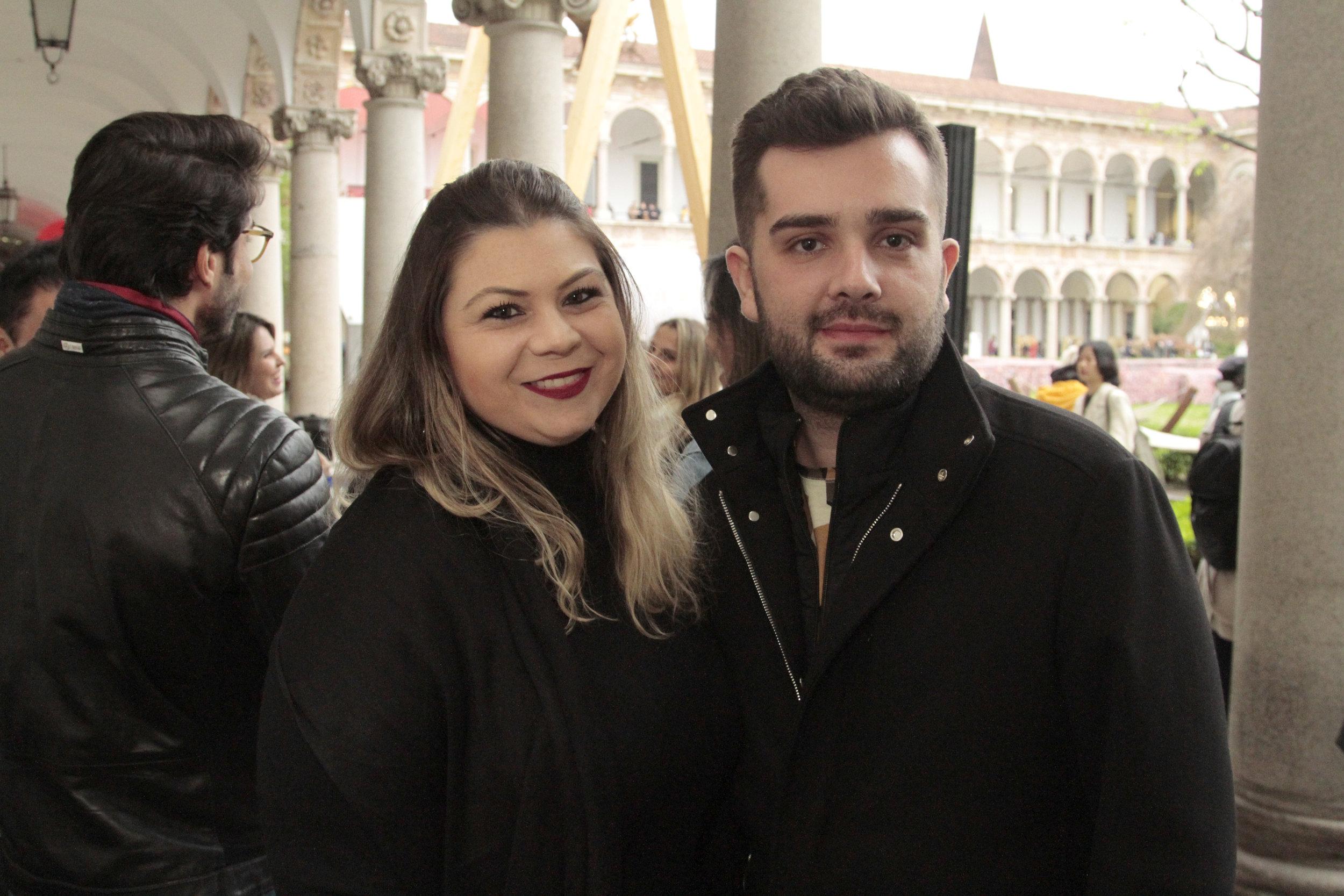 Débora Dalanexi e Danilo Pierozzi