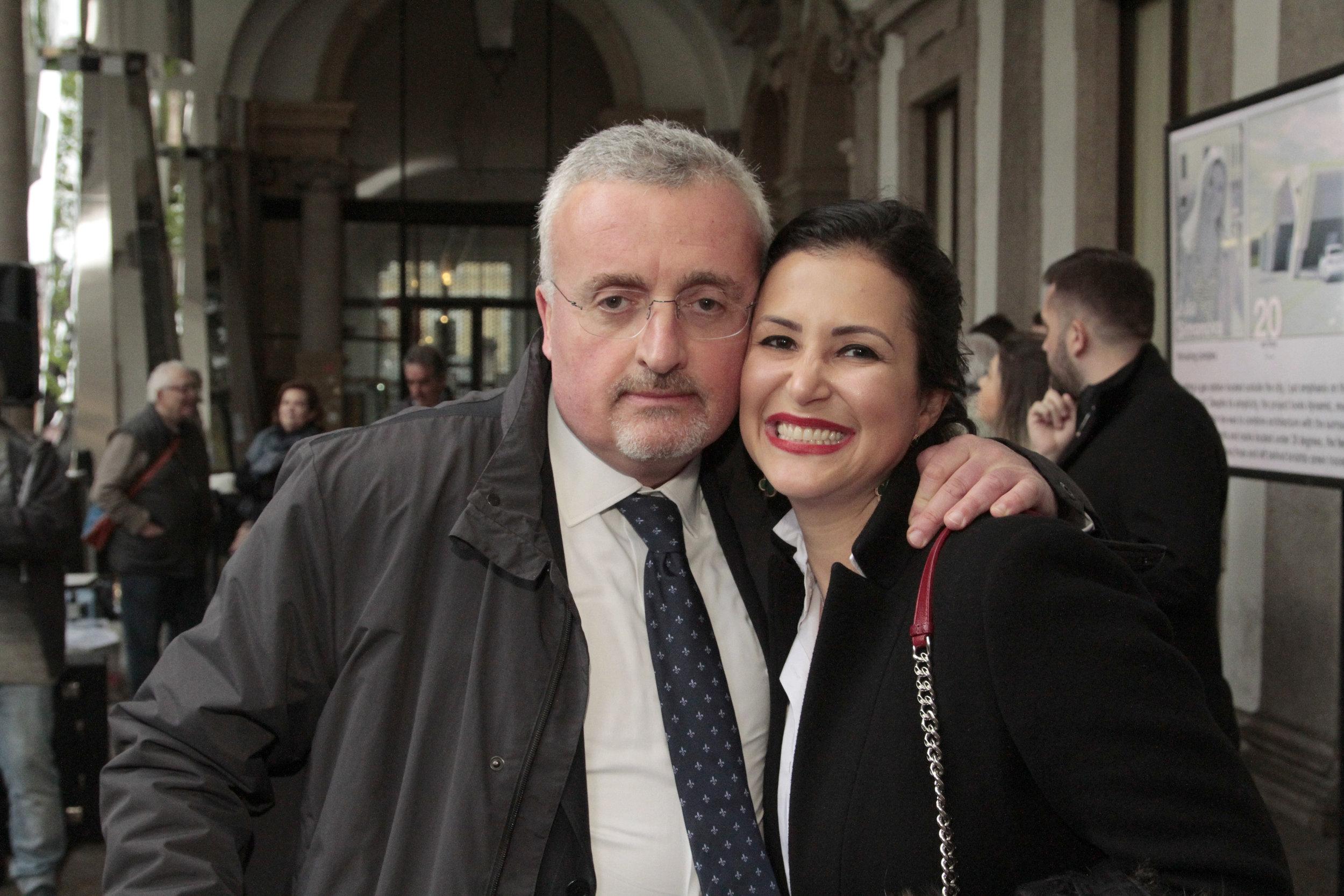 Silvio Gori e Vivian Coser