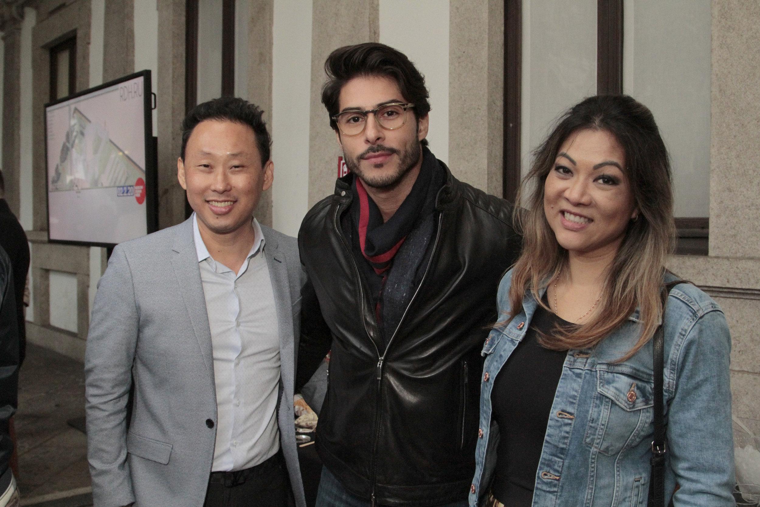 Fabiano Hayasaki, Bruno Santos e Tania Hayasaki