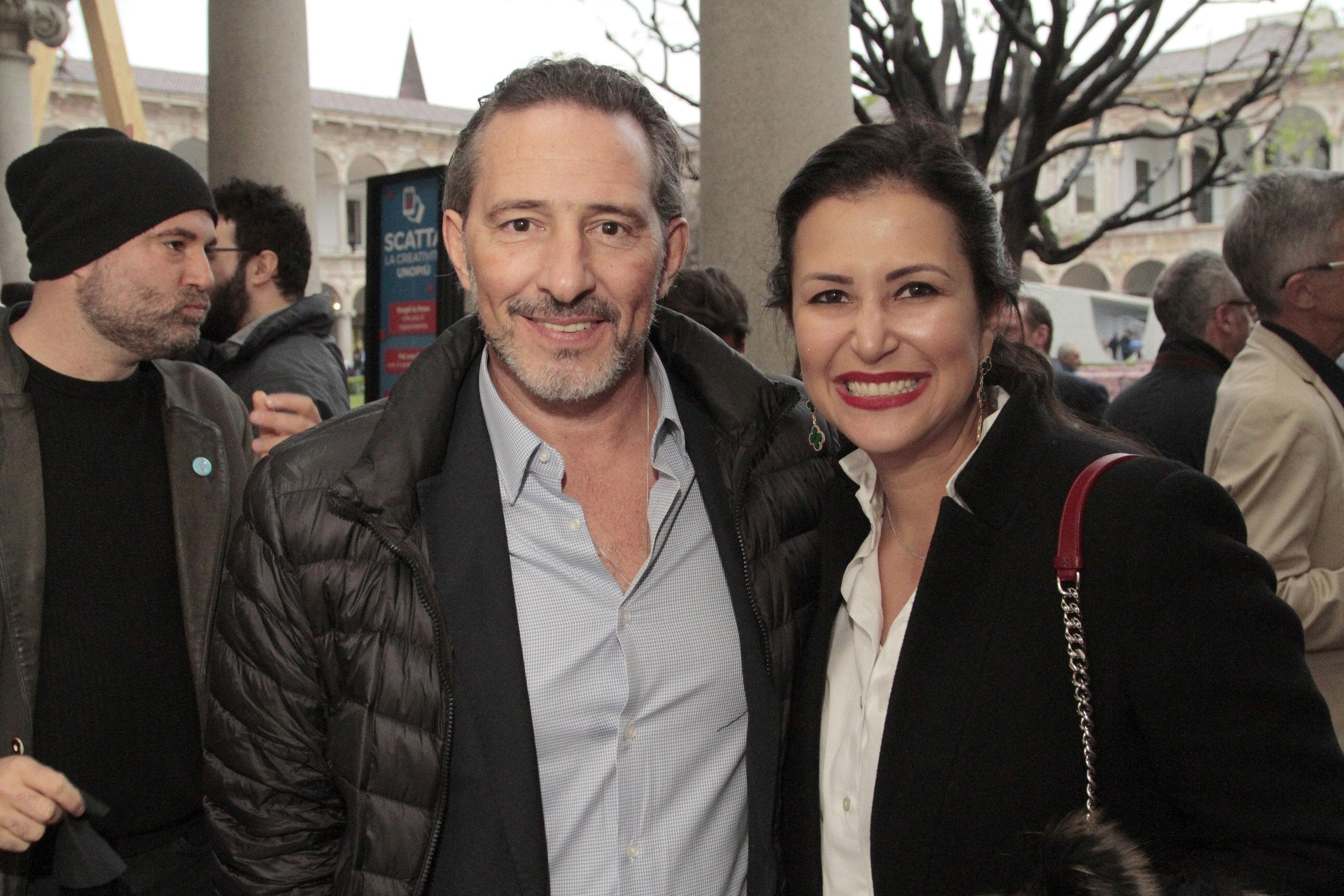 Marcelo Maksoud e Vivian Coser