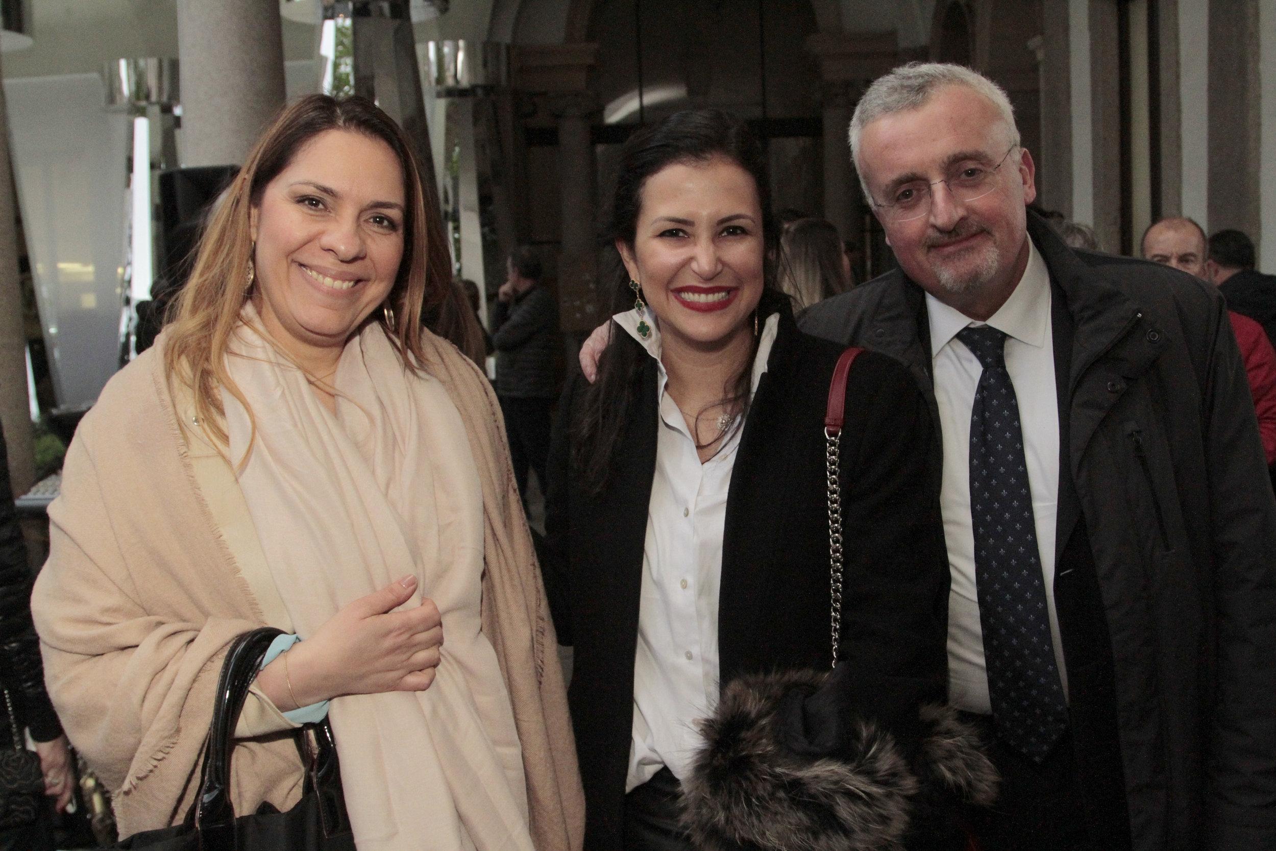 Marilia Mello, Vivian Coser e Silvio Gori