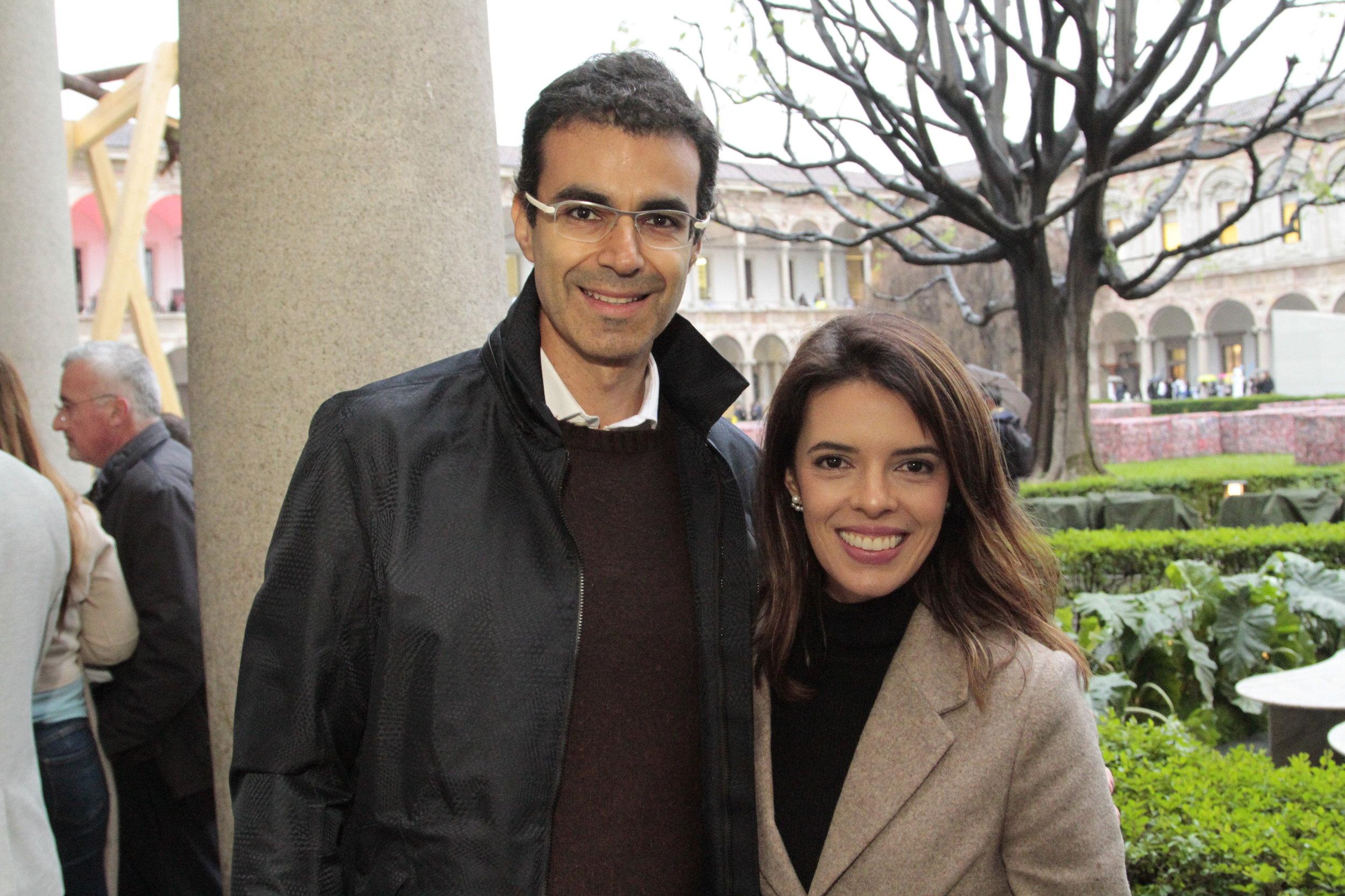 Ricardo Saad e Lucila Torqueto
