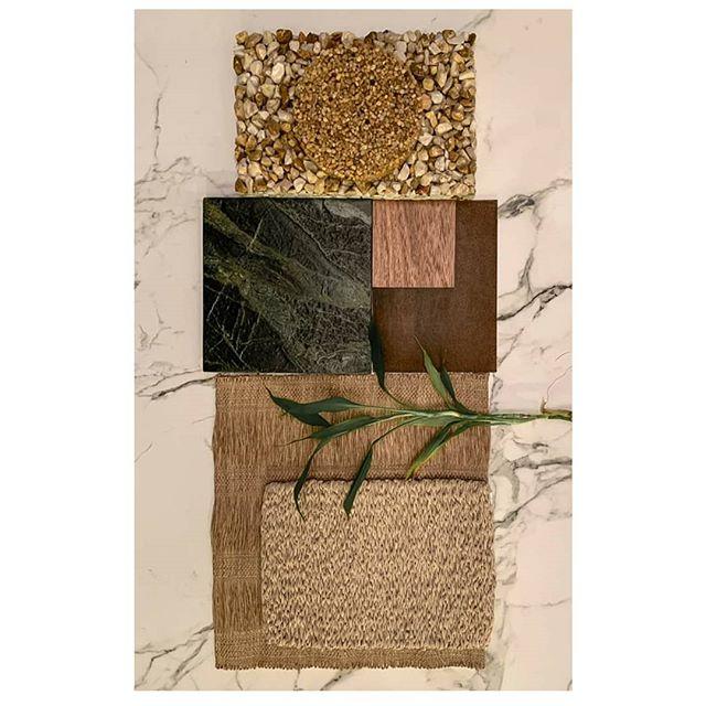 Mood board de segunda para iniciar a semana. #moodboard #board #material #design #arch #sette7