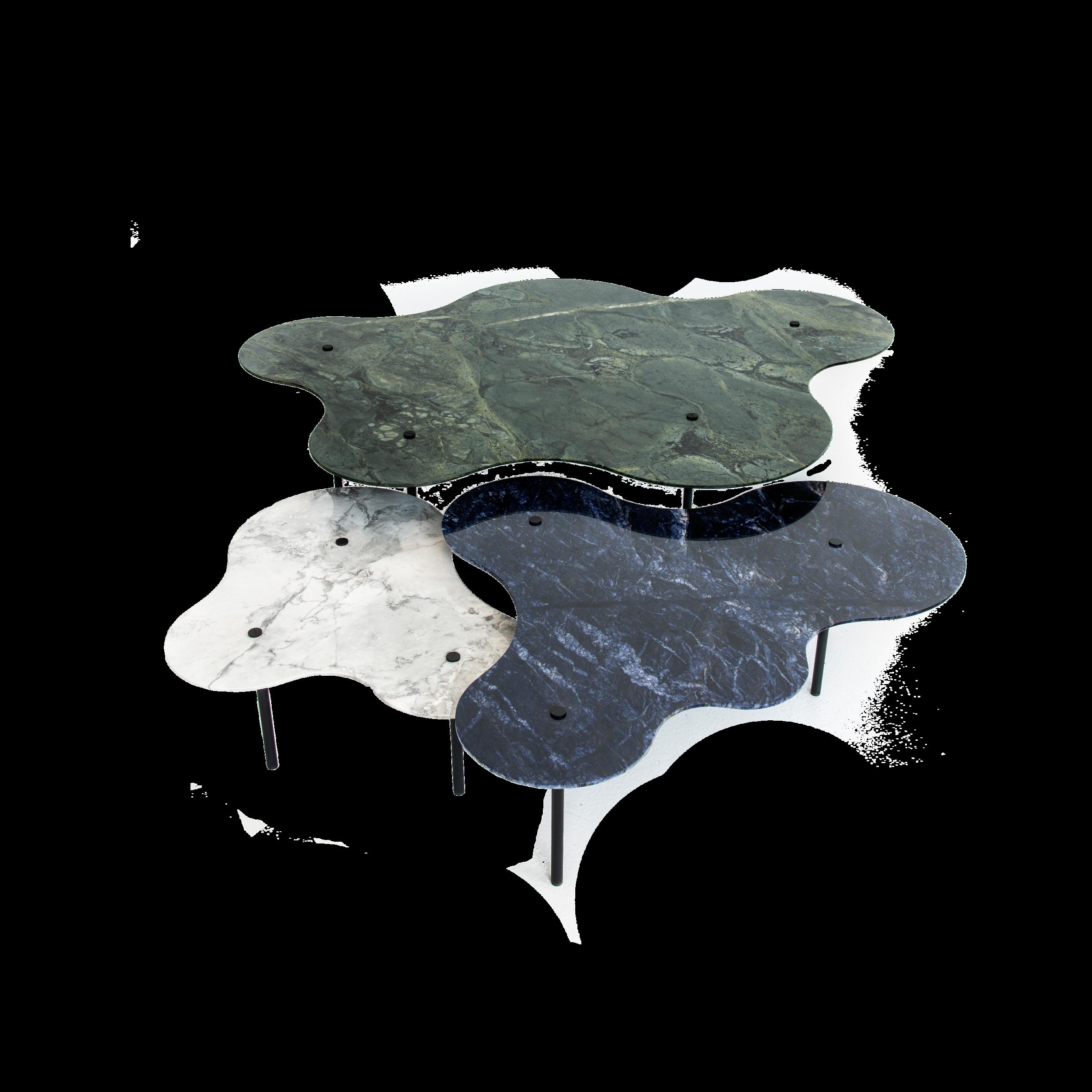 LINHA BOTANIQUE - Inspirada nos traços orgânicos característicos dos jardins do paisagista Burle Marx, as cores vibrantes presentes nos materiais naturais de origem brasileira fazem tanto alusão à riqueza do território nacional, como reforçam a identidade do desenho desta linha.