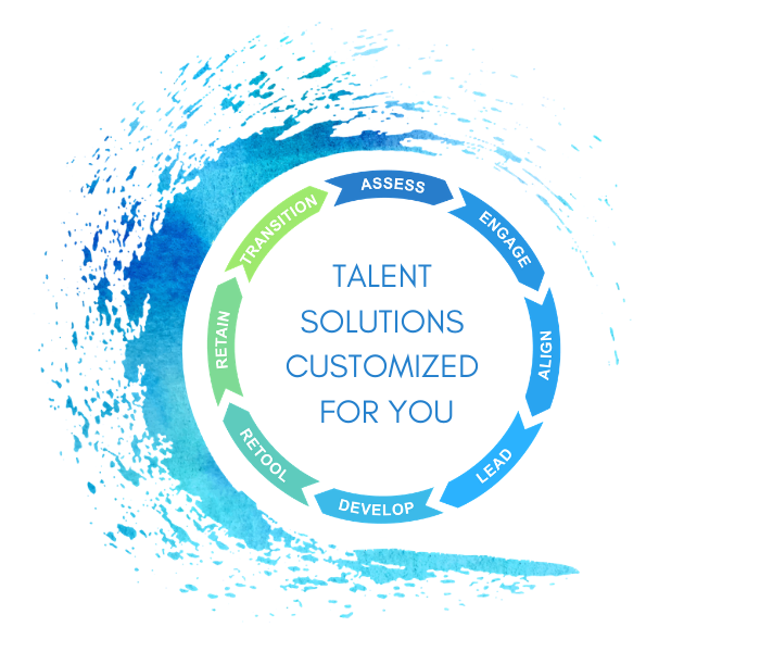 Torchiana provides customized talent solutions to help organizations and their employees ride the waves of change.