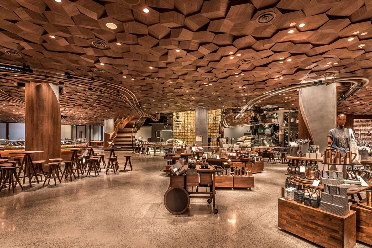 Starbucks Reserve Roastery - Shanghai, China Starbucks