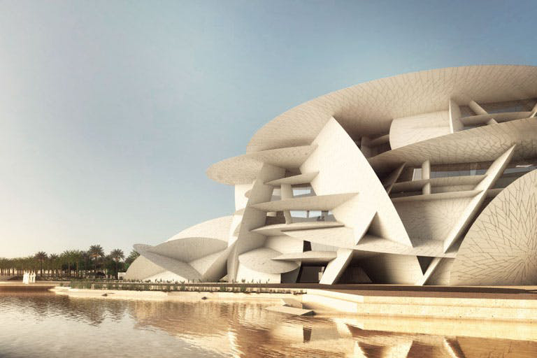 National Museum of Qatar - Doha, QatarAteliers Jean Nouvel