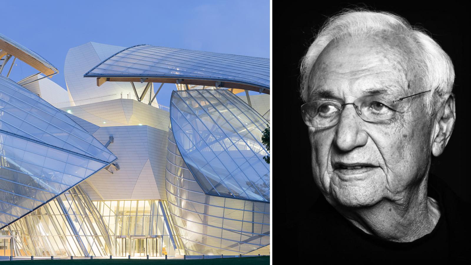 order sleek elegant shoes Frank Gehry Accepting 2018 Richard Neutra Award — Trimble ...