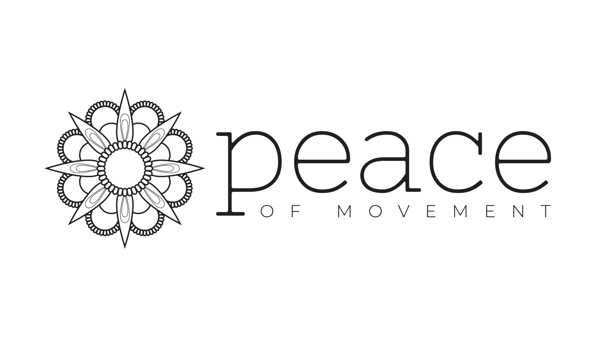 Peace of Movement Logo