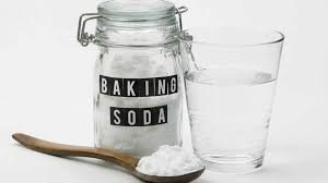 Baking Soda - It scrubs, whitens, deodorizes, and cuts grease.