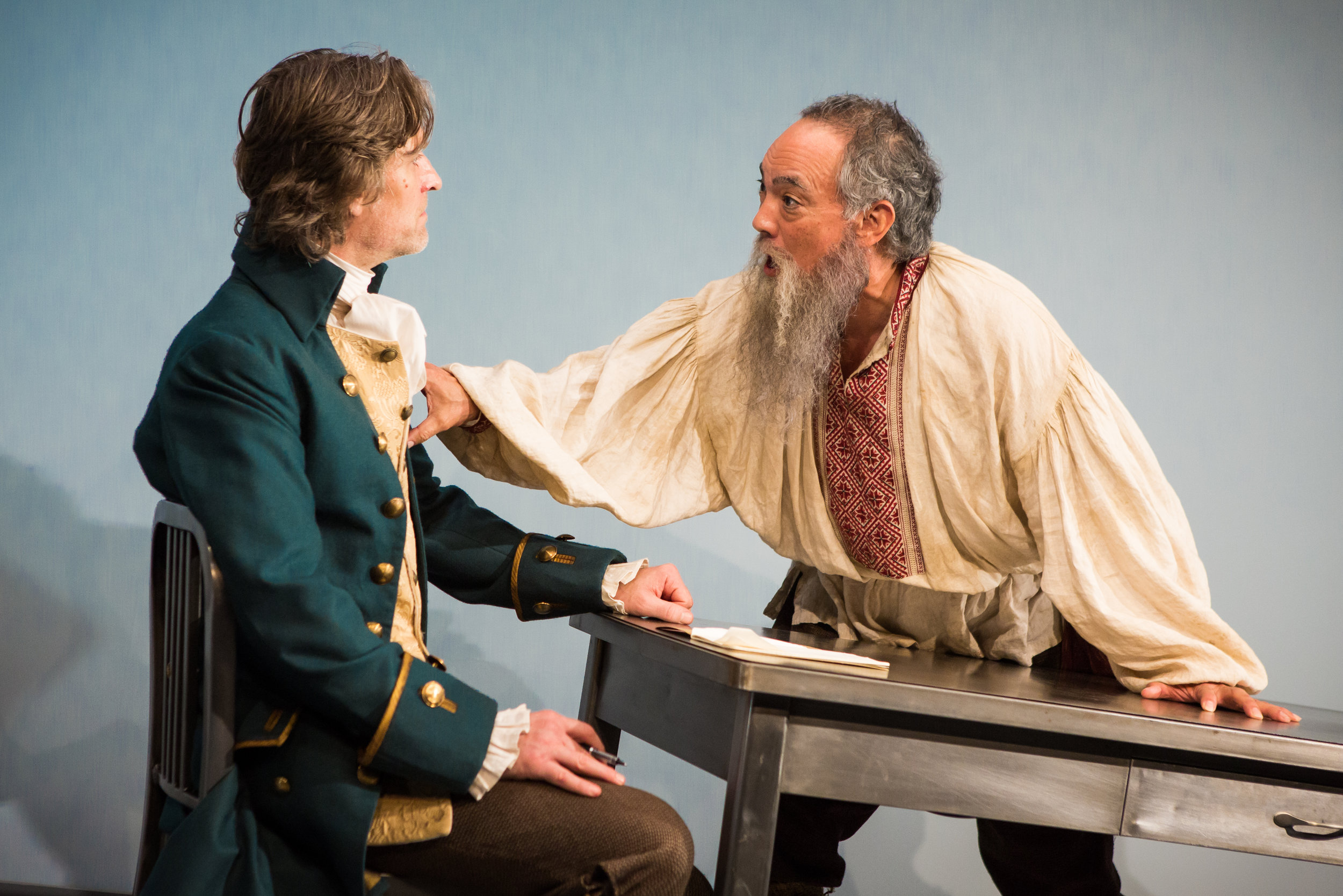 Michael Laurence and Thom Sesma in the Primary Stages production of DISCORD - photo by Jeremy Daniel.jpg