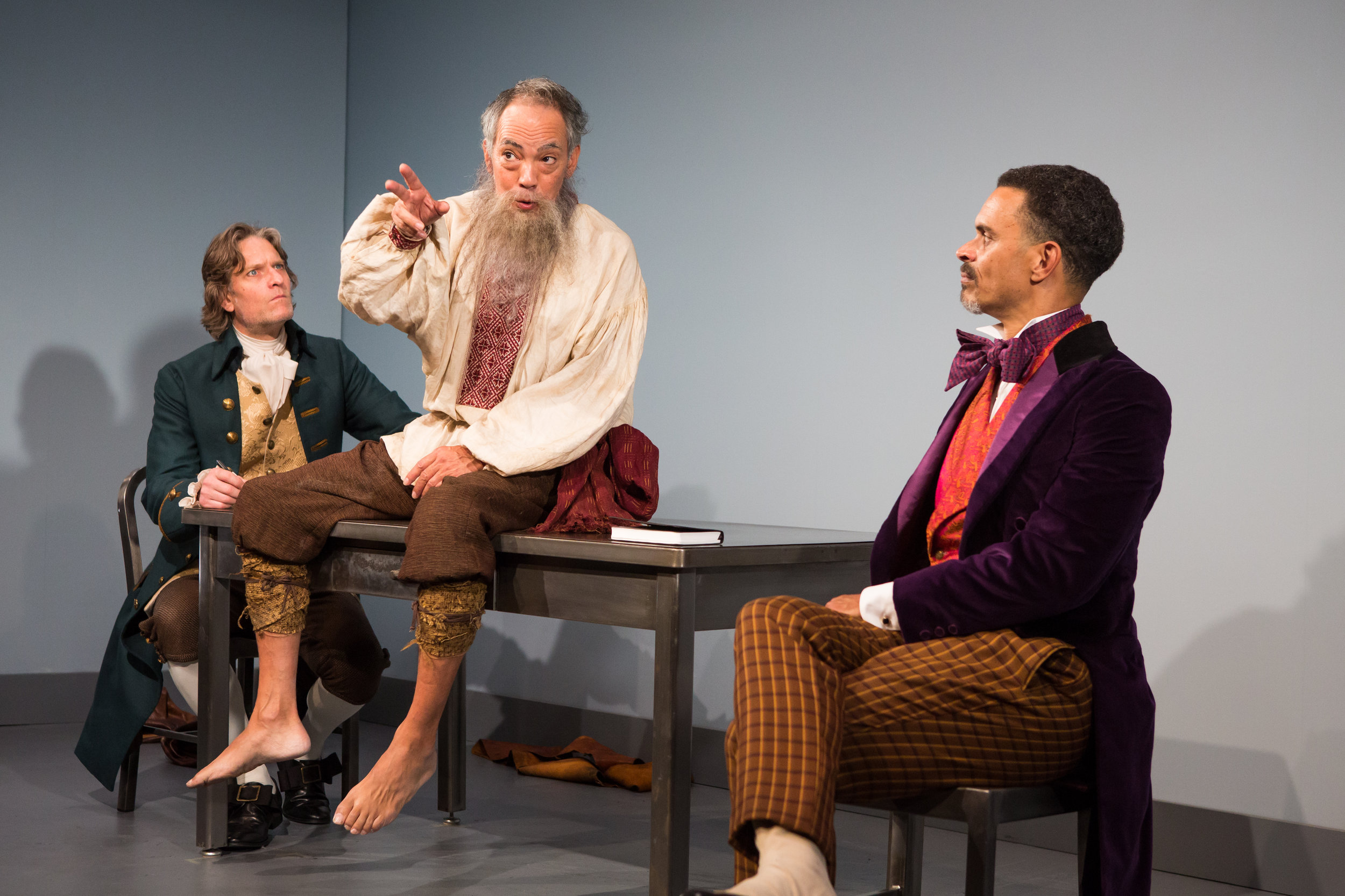 Michael Laurence, Thom Sesma and Duane Boutte in the Primary Stages production of DISCORD - photo by Jeremy Daniel.jpg