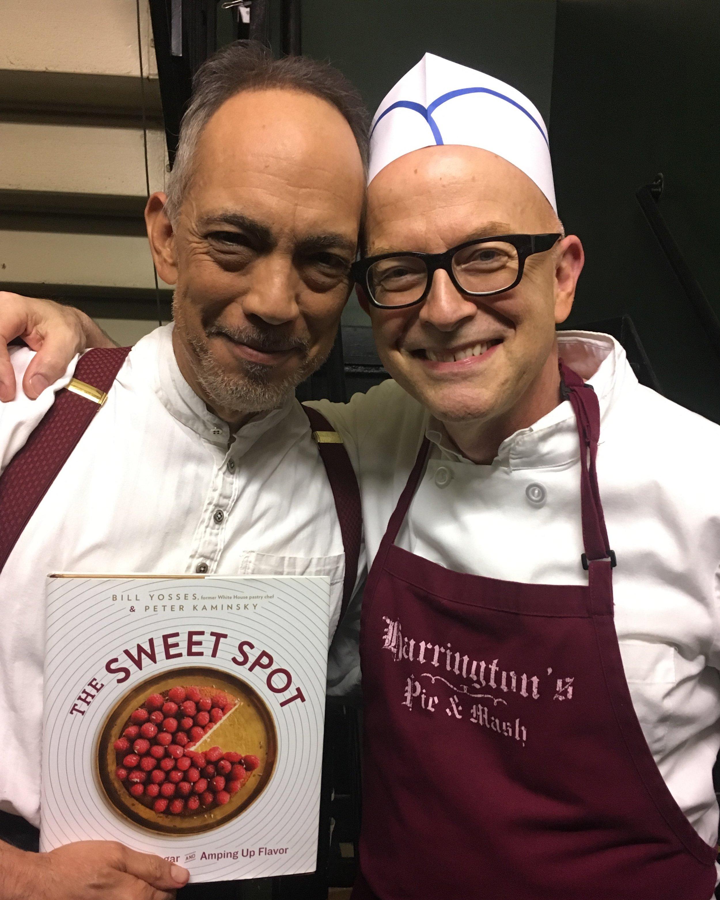 Thom Sesma & Chef Bill Yosses