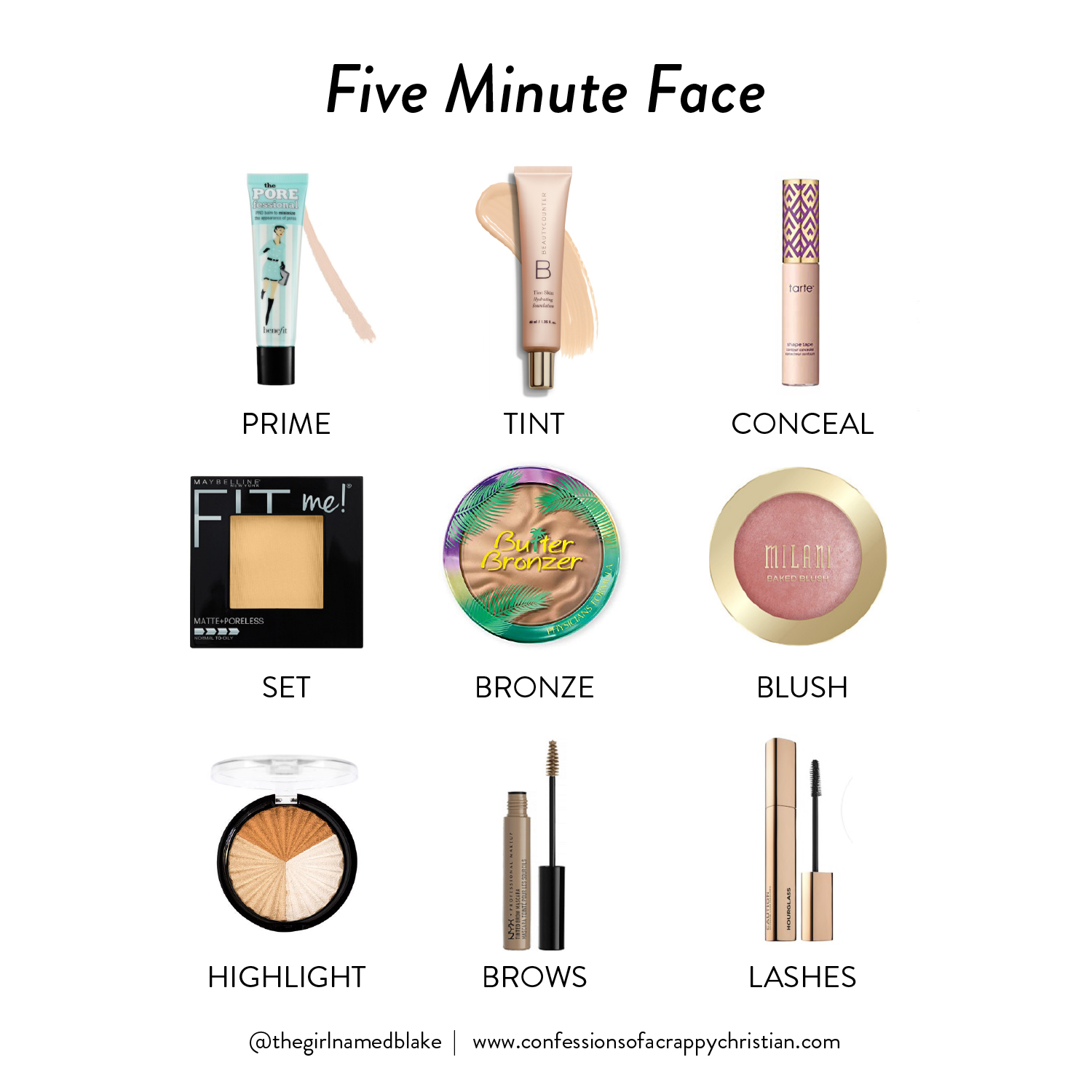 Five Minute Face | Everyday Makeup Routine