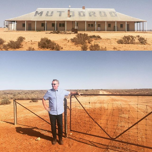 Headed to outback #SouthAustralia this week to film at Mutooroo Station, the childhood home of #aviation pioneers Ross and Keith Smith. The footage is spectacular.