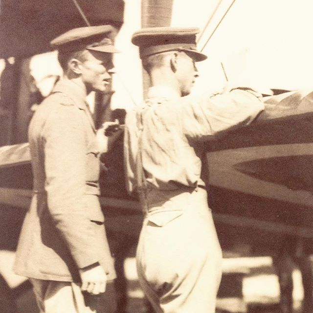 """On this day 99 years ago, Ross and Keith Smith and their two mechanics left Hounslow in their Vickers Vimy biplane, in weather """"totally unfit for all flying"""". Twenty-eight days later they landed in Darwin, becoming the first blokes to fly across the world."""